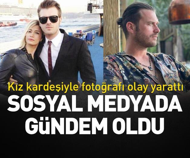Son dakika: Kıvanç Tatlıtuğ'un kız kardeşiyle fotoğrafı sosyal medyada gündem oldu
