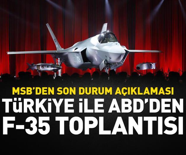 Son dakika: MSB'den 'F-35' açıklaması