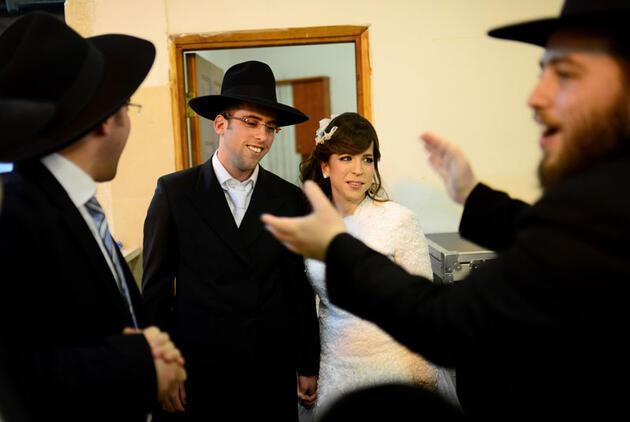 Böyle olur Ultra Ortodoks Yahudilerin düğünü