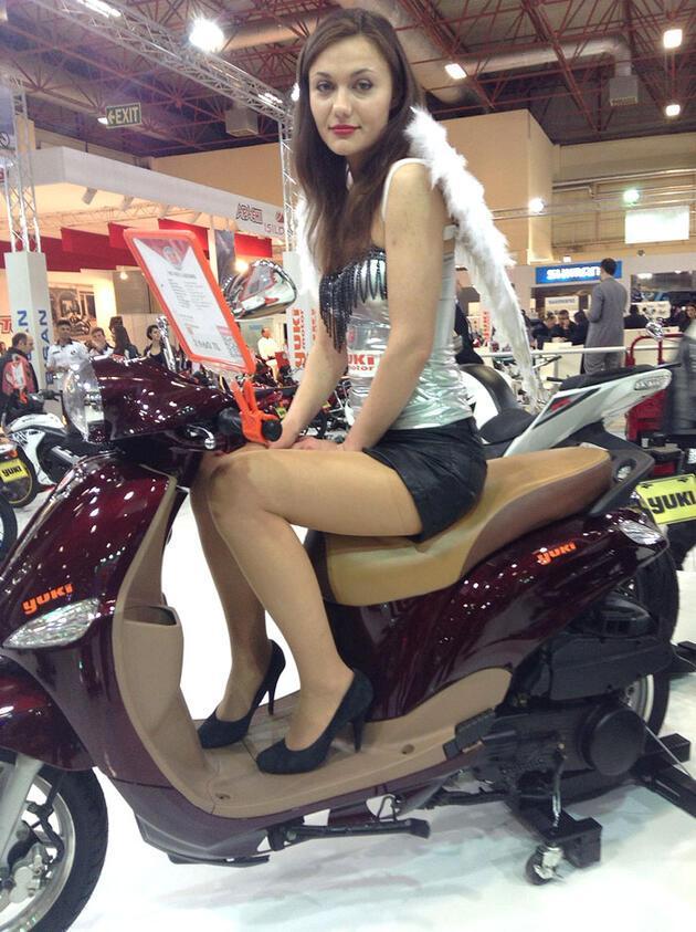 Motosiklet Fuarı hızlı başladı
