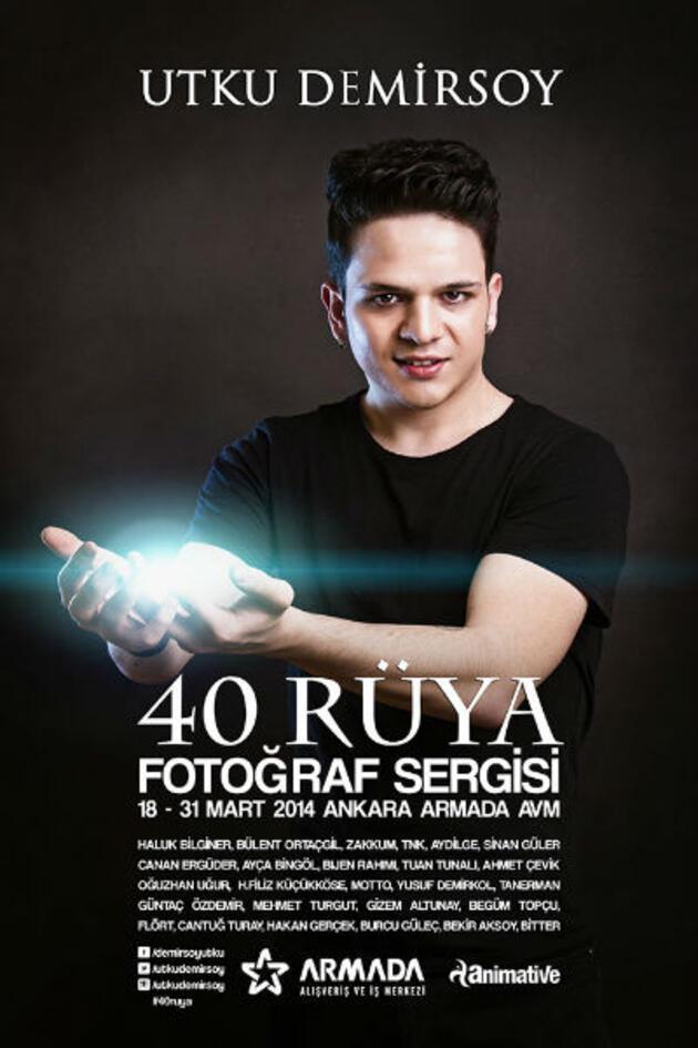 "Utku Demirsoy'dan ""40 Rüya"" sergisi"