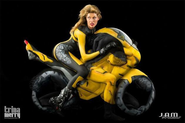 İnsandan motorsiklet!..