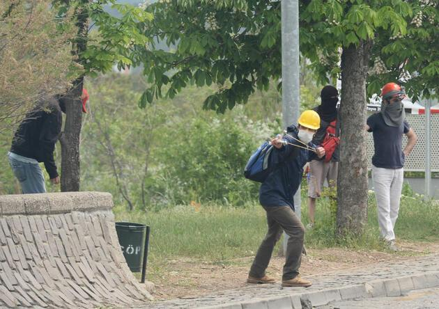 Ankara'da Soma yürüyüşüne polis müdahalesi