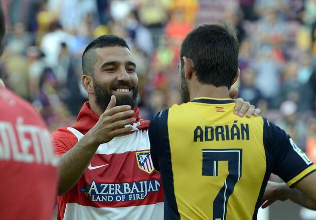 Böyle olur Arda Turan'ın şampiyonluk sevinci