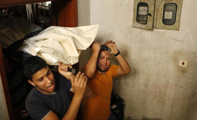 Gazze'den insan manzaraları