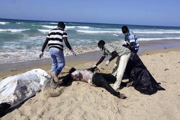 Libya'da göçmen faciası: Ölü sayısı 200'ü aştı