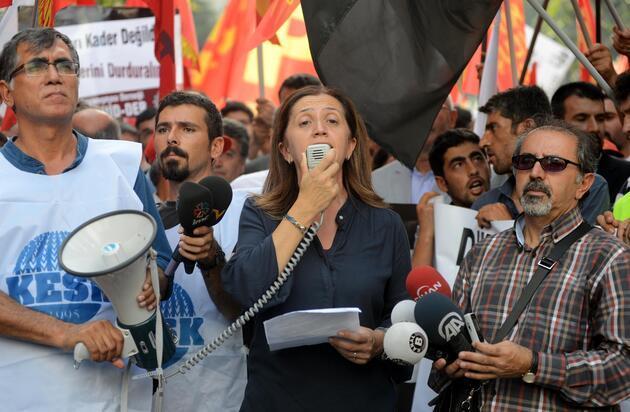 Mecidiyeköy'de polis müdahalesi