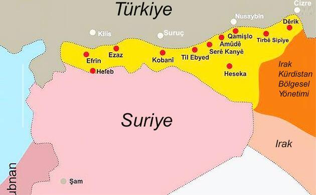 20 başlıkta Rojava demokratik özerk bölgesi