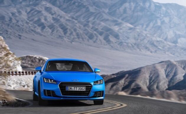 Audi'nin 2016 model TT Roadster ve TTS'i