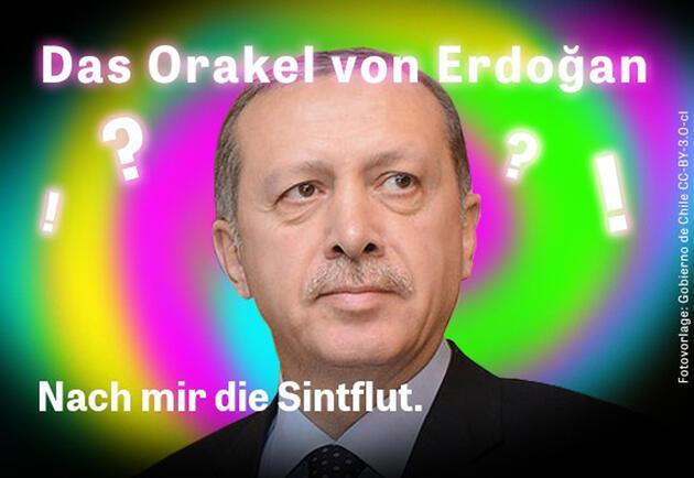 """Almanya'da """"Erdoğan'ın kehanetleri"""" kampanyası"""