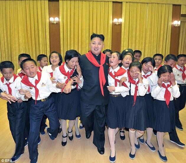 Kim Jong Un'un en garip fotoğrafları