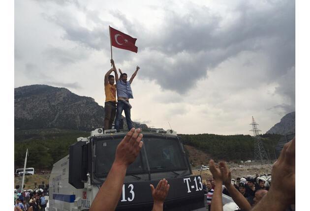 Adana Pozantı'da tehlikeli gerginlik