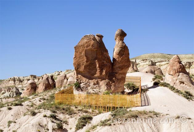 Peribacası manzaralı deve turu