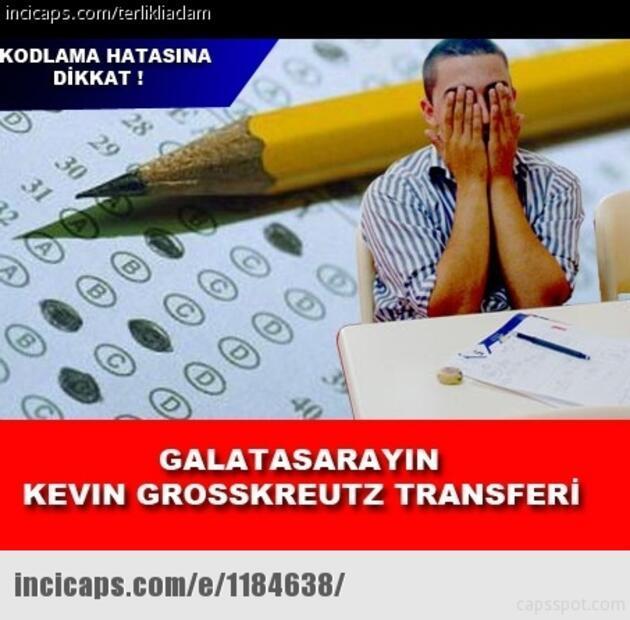 """""""Kevin Grosskreutz transferi onaylanmadı"""" capsleri"""