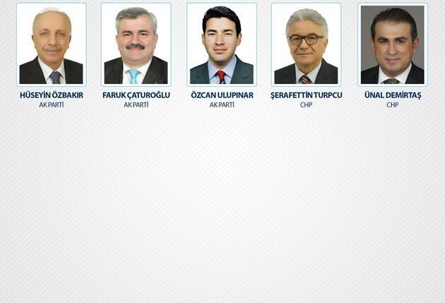 İşte il il milletvekili listesi
