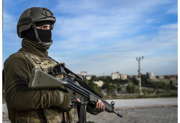 Anadolu Ajansı Silvan'dan bu fotoğrafları geçti