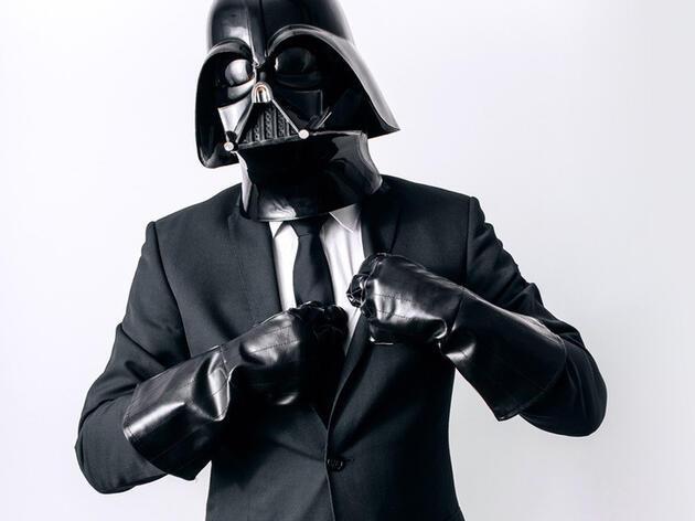 Darth Vader'ın bir günü böyle geçiyor