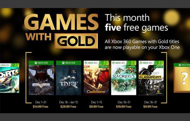 Xbox'tan bedava oyunlar