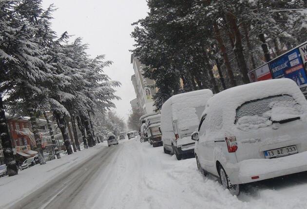 Anadolu kar altında