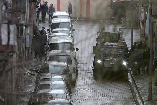 Saldırının ardından Bayrampaşa'dan son fotoğraflar