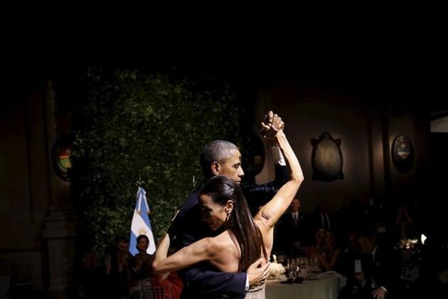 Obama tango yaptı