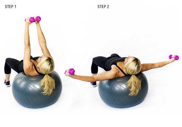 Göğüs kasları için 3 etkili hareket