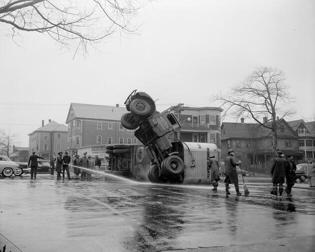 Bir zamanlar trafik kazaları