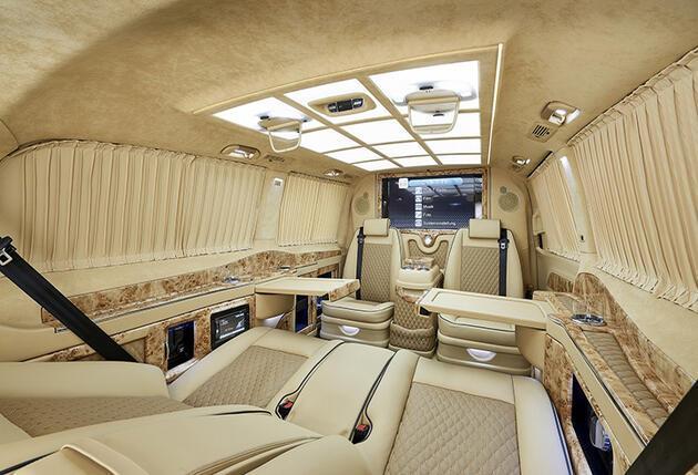 Mercedes S serisine VIP konforu