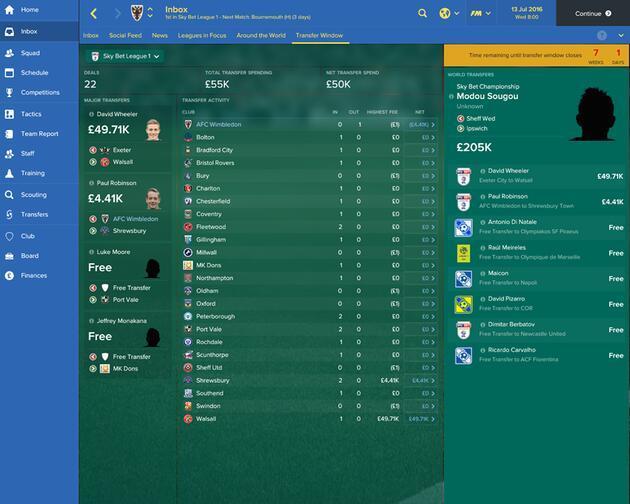 33 maddede yeni Football Manager 2017
