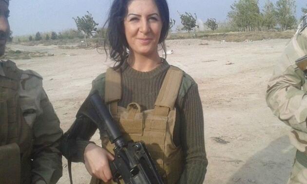 YPG'ye katılan kadının ülkesinde hapsi isteniyor