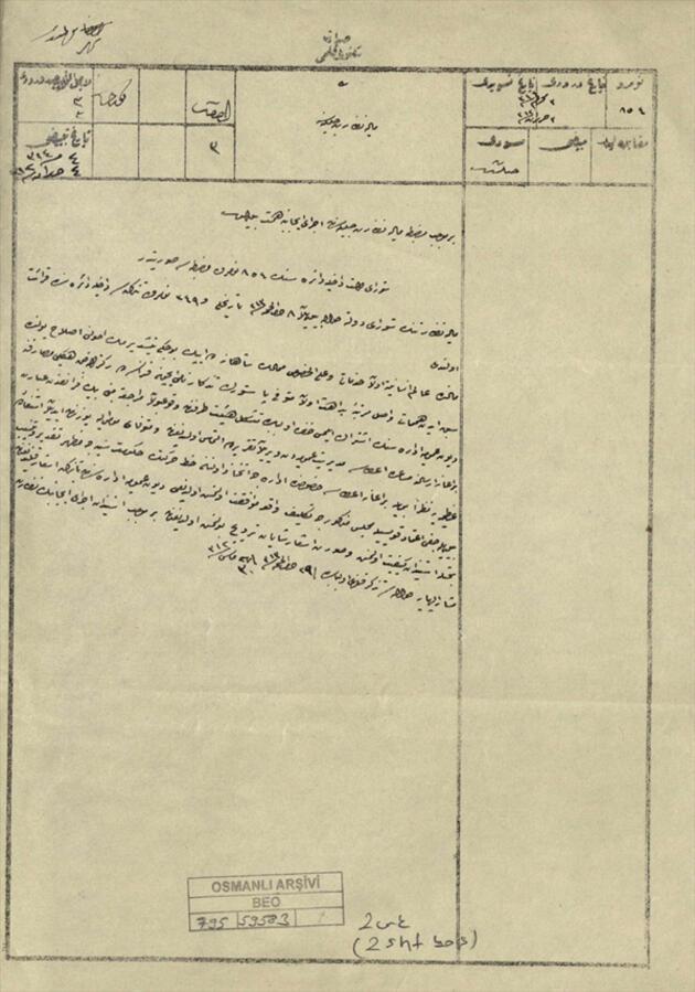 II. Abdülhamid'in Fransız kimyagere yaptığı yardım ortaya çıktı