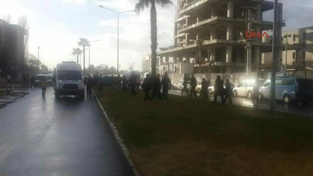 İzmir'deki patlamadan ilk kareler