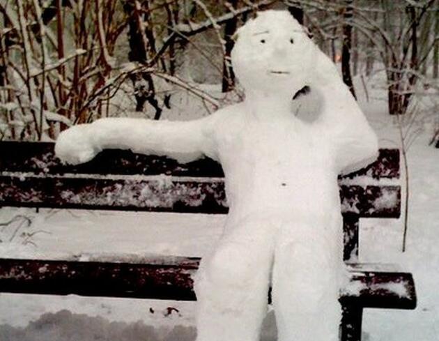 En yaratıcı ve komik kardan adamlar
