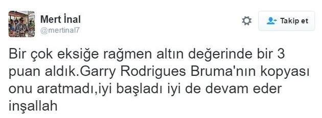 Sabri ve Rodrugues Twitter'da ses getirdi