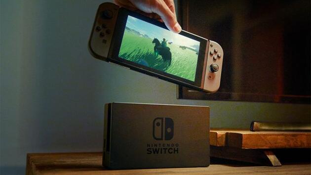 Nintendo Switch tamamen söküldü