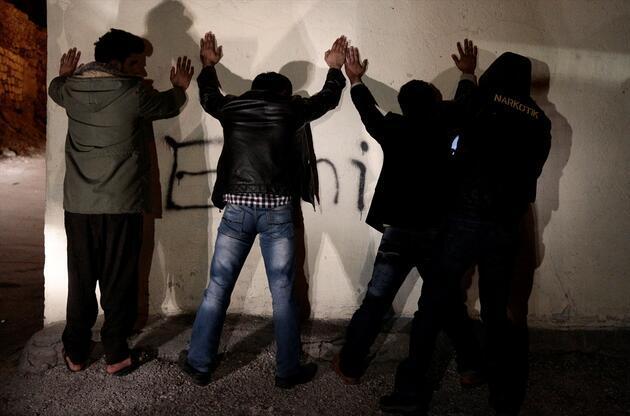 Ankara'da 1200 polisle operasyon