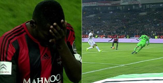 Gaziantepspor 1-1 Fenerbahçe / Maç Özeti