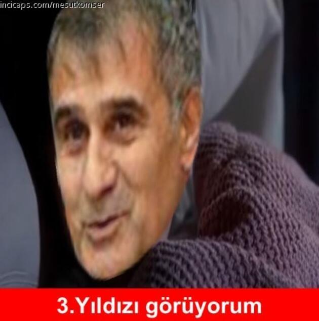 Galatasaray-Beşiktaş derbisi sonrası yapılan capsler