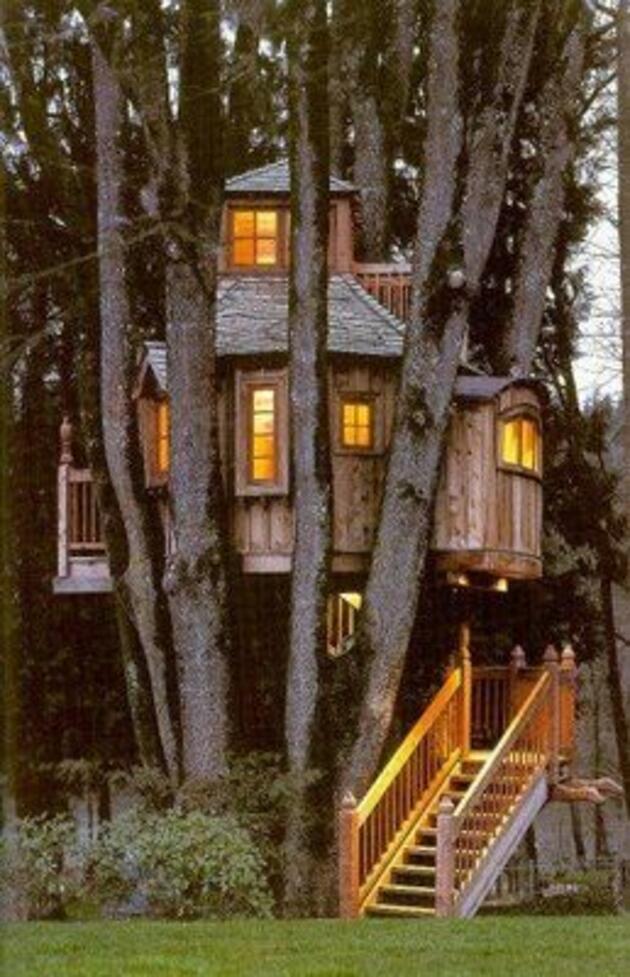 Ağaç ev deyip geçmeyin