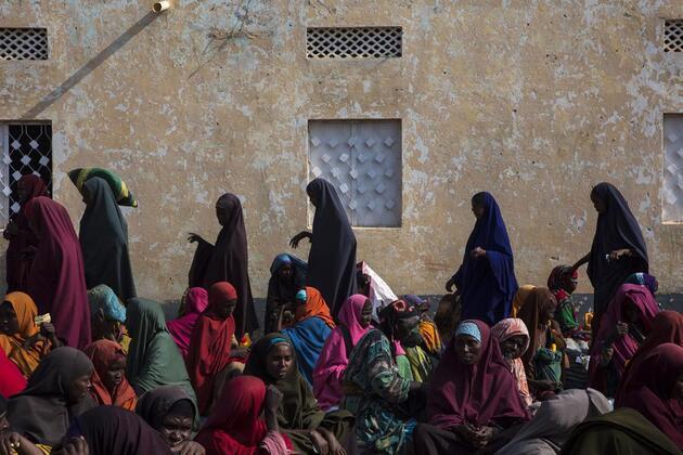 Somali'de aşırı kuraklık hayatı tehdit ediyor