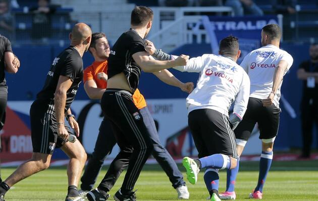 Bastia-Lyon maçı yarıda kaldı