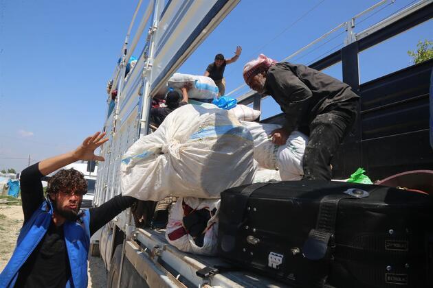Mersin'de 2 bin Suriyeli tahliye ediliyor