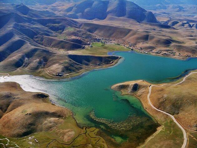 Saklı cennet Eğrigöl doğa tutkunlarını misafir ediyor
