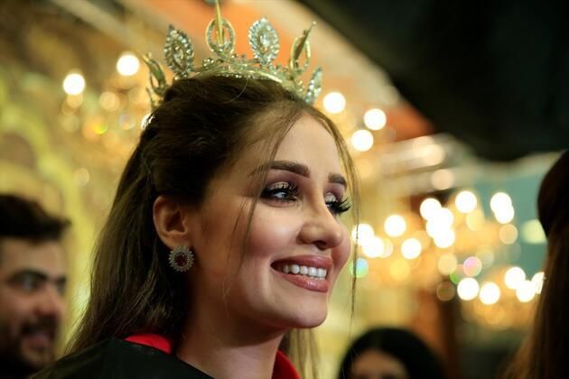Irak'ın en güzel kadını seçildi
