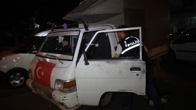 Bursa'da polise ateş açıldı