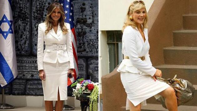 Melania Trump o dizinin karakterini taklit ediyor!