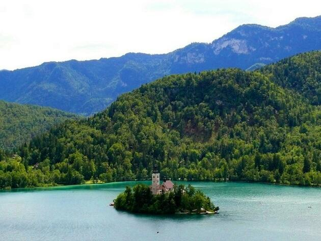 Dağ ile denizin buluştuğu ülke: Slovenya