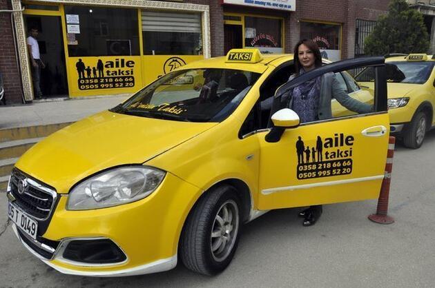 'Hayal' diyen kocasına açtığı taksi durağında iş verdi
