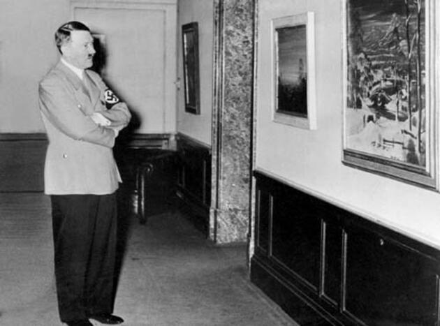 Hitler'in fotoğrafındaki o tablonun sırrı