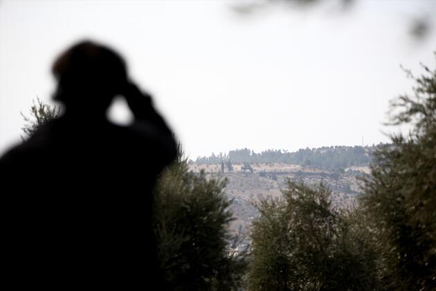 Afrin sınırında eller tetikte bekliyorlar